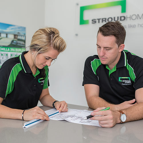 Stroud Homes staff